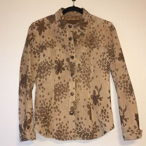 Jackets & Blazers - Authentic Washable Suede Jacket